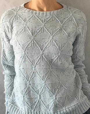 Узор для пуловера 2021